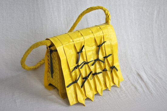 duct tape bag by Lana duCroq